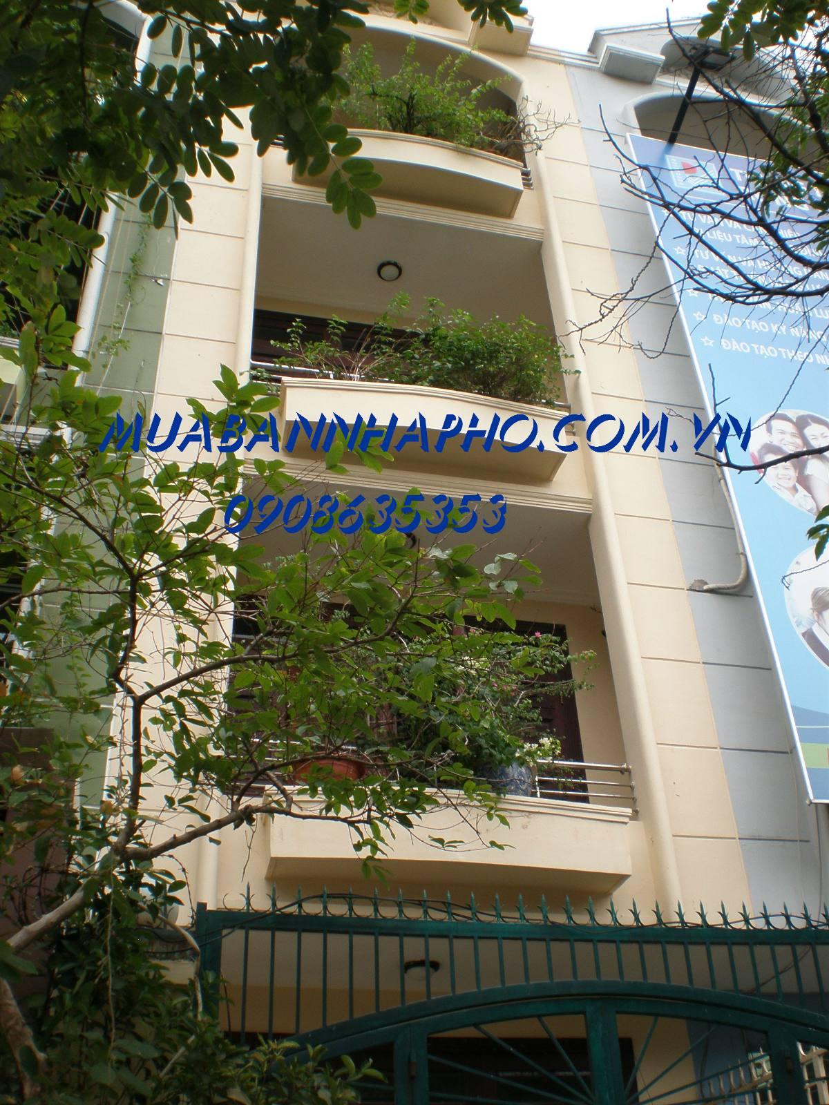 Bán nhà quận Phú Nhuận MT đường phan xích long