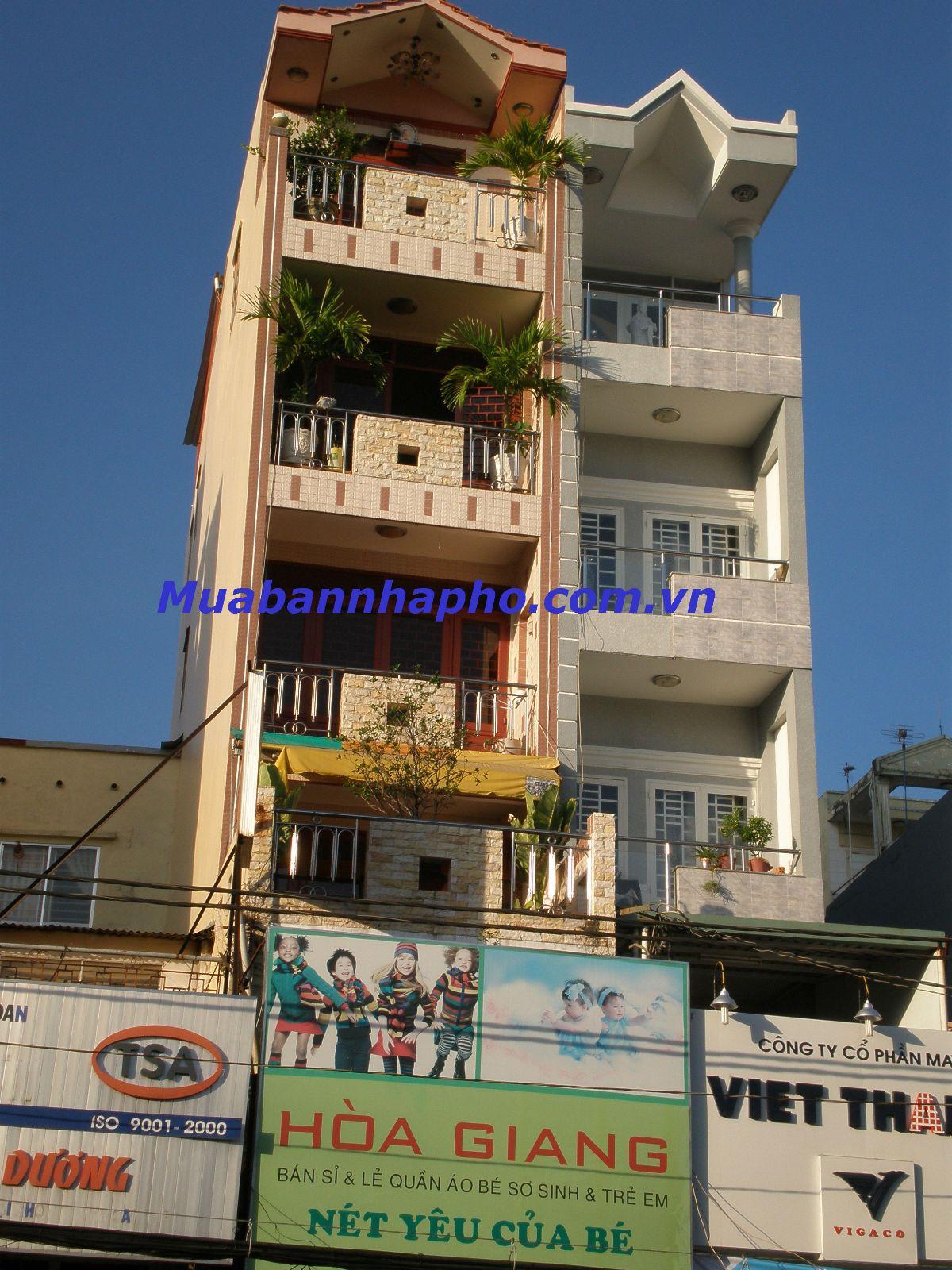 Bán nhà Quận Phú Nhuận